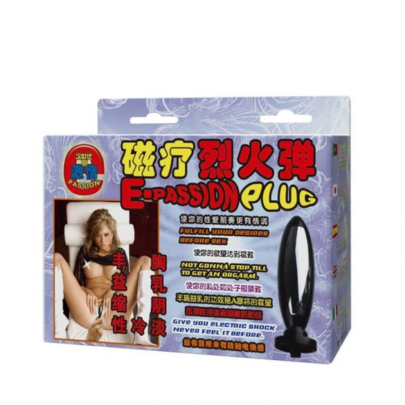 Multi Function Electro Sex Kits Massager With Plug